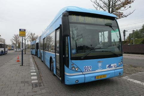Bus 902, Postbank totaalreclame bus