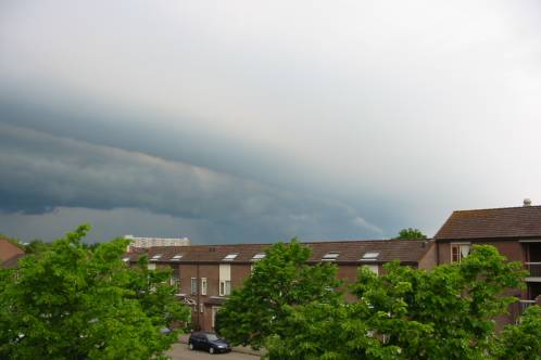 shelfcloud in aantocht